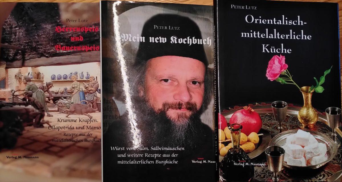 Rezension – Peter Lutz – Drei Kochbücher für Mittelalter-Anfänger
