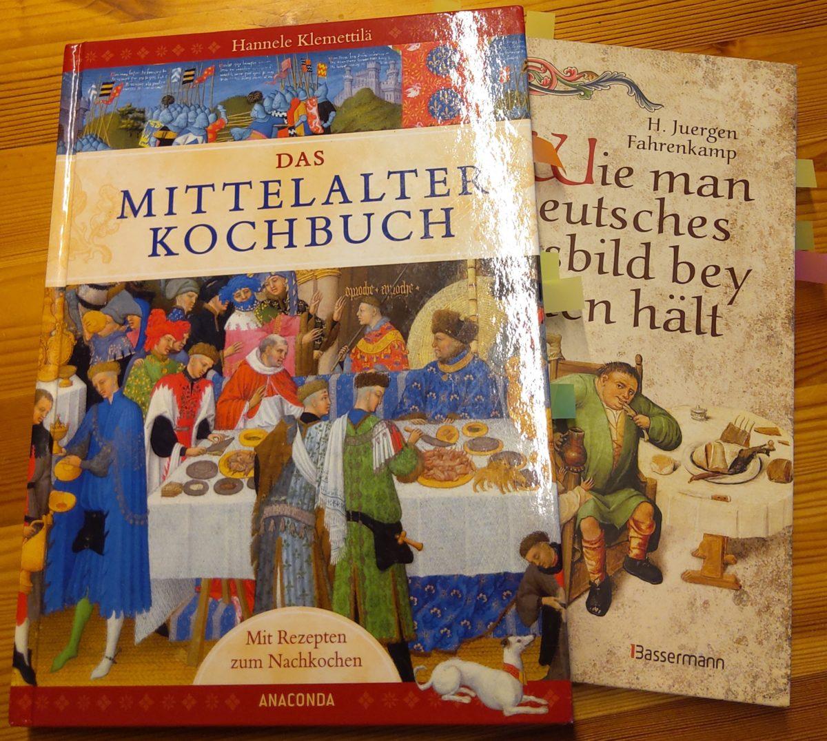 """""""Mittelalterkochbücher"""" – Rezensions-Duell Nr. 1"""