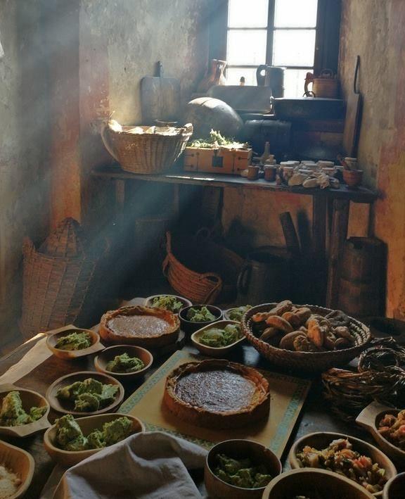 Mittelalterliche Küche für Einsteiger